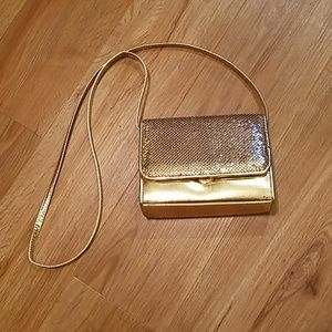 Whiting and Davis mesh purse